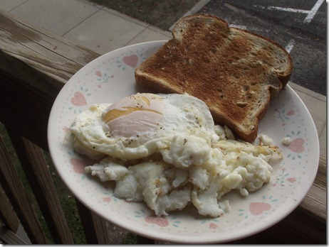 Scrambled Egg Whites. the scrambled egg whites: