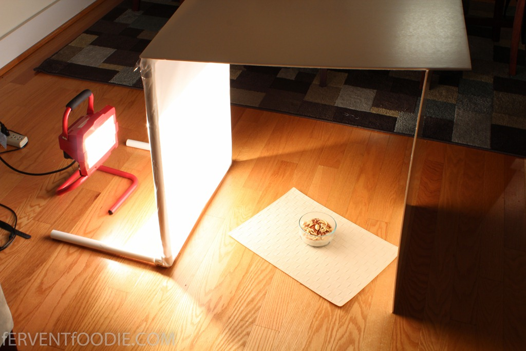 cheap diy lighting. DIY Photography Light Diffuser Via Fervent Foodie Cheap Diy Lighting B