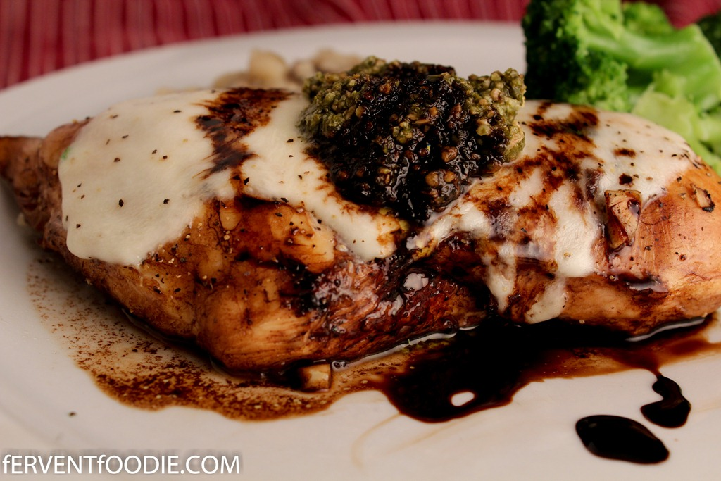 Balsamic Marinated Chicken Breasts Recipe — Dishmaps
